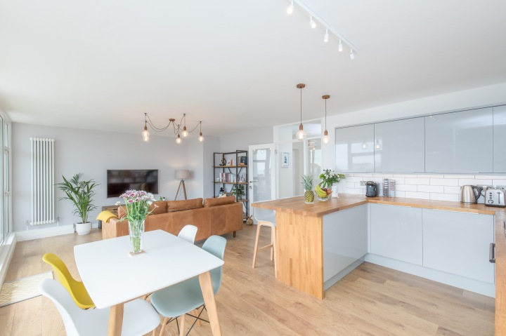 Why we opted for open plan living