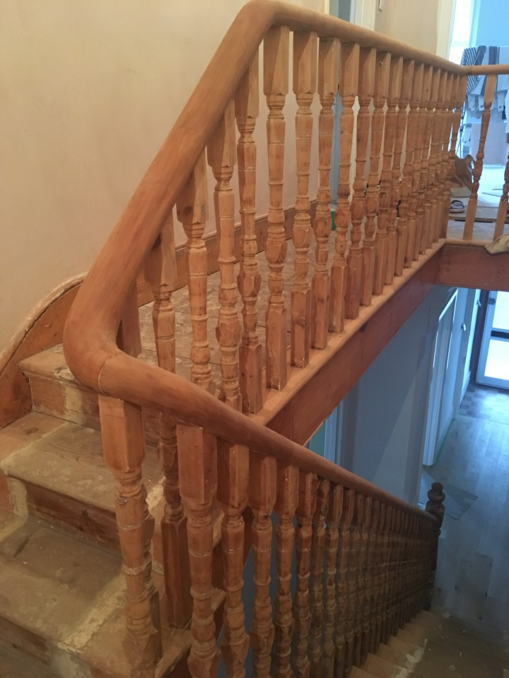 Our staircase: 4 pieces of advice when it comes to woodwork
