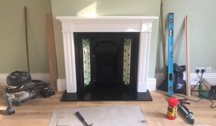 The story behind our Victorian fireplace